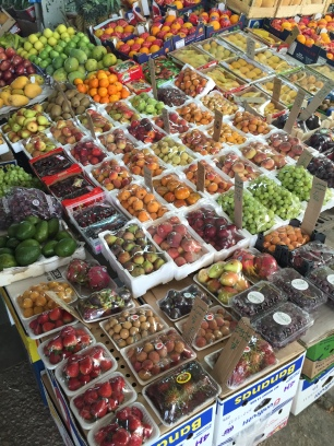 Every single fruit and veg are from different countries around the world!