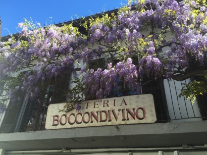 This is where Carlo Petrini (Slow Food founder) first came up with the idea.